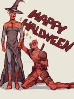 Spideypool17 by LKiKAi