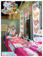 Kawaii Table at Supercon 2009 by KawaiiUniverseStudio