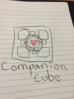 The Cube that we all love by derpypanda04