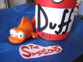 Blinky and duff can! by samsnauticalheart