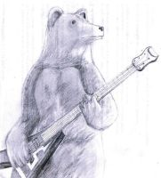 Bear guitar by Dead-Work