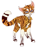 Tiger stripes by Bluefire-kitteh
