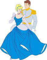Cinderella and Prince Charming by AnastasieLys