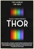 Thor Poster by W0op-W0op