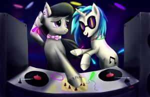 Between Rhythm and Bass by Fox-Moonglow