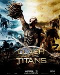 Clash of Titans Movie Poster by mademoiselle-art