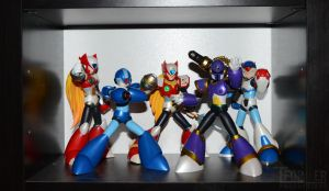 My Megamans - Let me show U them by Tformer