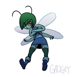 Monster Girl #13 - Insect Girl by GadgetTR