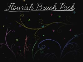 Flourish Brushes by truefreestyle