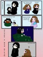 A Snape and Hermione Nightmare by Asraiundine