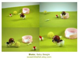 Bluto Baby Beagle by perfectnoseclub