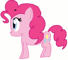 Pinkie Pie Smile Animation by itsacandytime