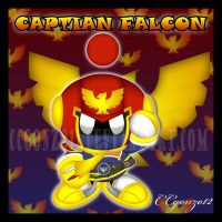 Captain Falcon Chao by CCgonzo12