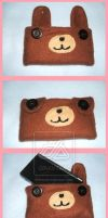 Bear DS Case by Romaji