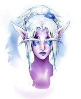 Warcraft Nightelf by MissPendleton