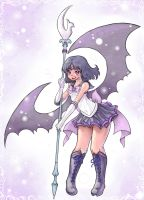 Sailor Saturn by KazeAi7