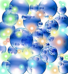 Stock Bubbles and Light Source by analillithbar-stock