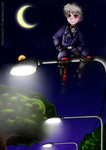 Prussia - .: Street lights :. by pikachu-25