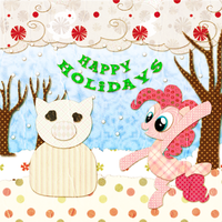 SS: Pinkie Pie Holiday by jiru-chan
