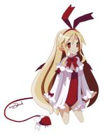 Fallen Angel Flonne by sugarDood