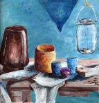 Cezanne-style still life by my-glorious-muse