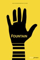 The Fountain Minimalist Poster by pmjohnst