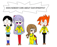 What about the Spinoffs by ajpokeman
