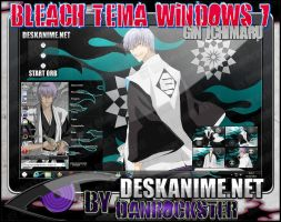 Gin Ichimaru Theme Windows 7 by Danrockster