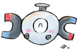 Magnemite Sketch by Spufflez