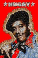Huggy Bear photo mosaic by Mosaikify