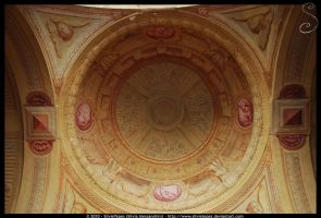 Roof above sanctuary stairs by SilvieTepes