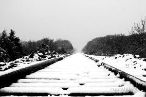 winter railroads by ryanshivers