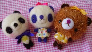 Needle felting and amigurumi by BrusyMilongui