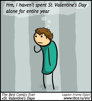 The Best Comics Ever: St. Valentine's Day by SatyrArs