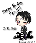 Happy B-day Pyro by motitapink