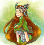 Keyleth by fangmich