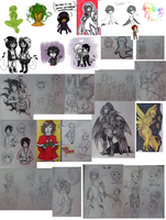 End of 2012 sketchdump by RedLex