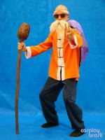 Muten ROshi Cosplay by Chico by Moyashi-Arts--Chico