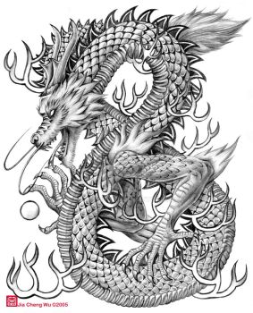 Chinese Dragon by jiachengwu