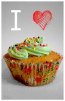 I love Cupcakes by marguerite-verte