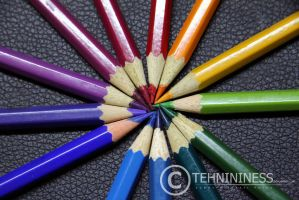 Color Wheel by tehnininess