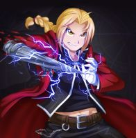 Edward Elric by Sparkleee-Sprinkle