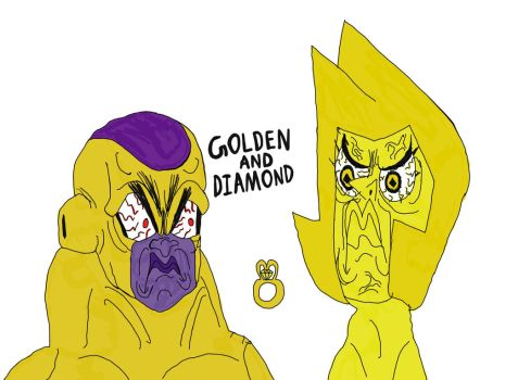 Golden Frieza-Yellow Diamond: Perfect Wedding Ring by RollerTroller699