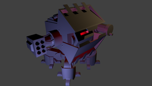 -Work- Enemy robot 1 [WIP] by Shooter--Andy