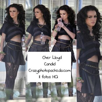 Cher Lloyd Candid by CrazyPhotopacks