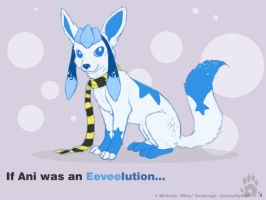 Eeveelutionary Glaceon by CanineHybrid