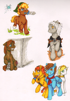 Game Ponies by LadyVentuswill