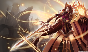 Leona League of Legends by Argetwing