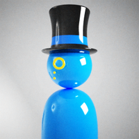 Top hat Man display picture by sam2993