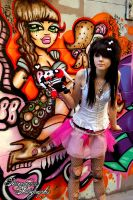 graffiti queen II by paradoxphotography